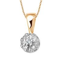 Zdjęcie Złota zawieszka z diamentem #24