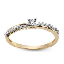 Zdjęcie Złoty pierścionek #52