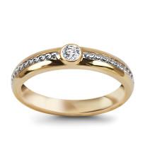 Zdjęcie Złoty pierścionek #24