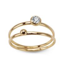 Zdjęcie Złoty pierścionek #16
