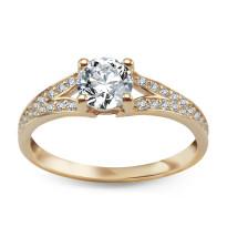 Zdjęcie Złoty pierścionek #42