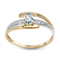 Zdjęcie Złoty pierścionek #34
