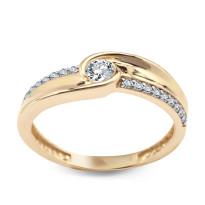 Zdjęcie Złoty pierścionek #46