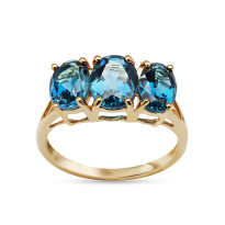 Zdjęcie  Złoty pierścionek #83