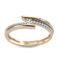 Zdjęcie Złoty pierścionek #31