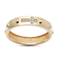 Złoty pierścionek - różaniec