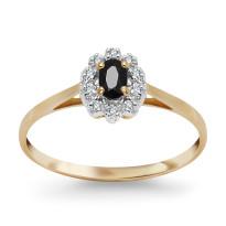 Zdjęcie Złoty pierścionek z diamentami #37