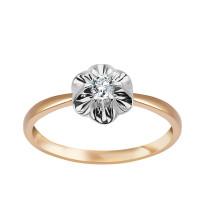 Zdjęcie Złoty pierścionek z diamentami #24
