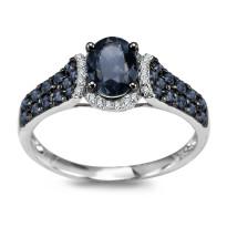Zdjęcie Złoty pierścionek z diamentami #12