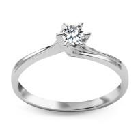 Zdjęcie Złoty pierścionek z diamentem #36